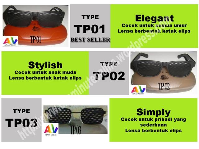 kacamata terapi  type TP01 TP02 TP03